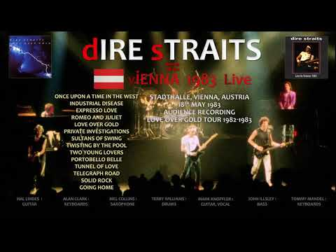 Dire Straits - 1983 - LIVE in Vienna [audio only]
