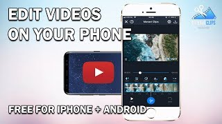 How To Edit Videos On Your Phone for FREE: iPhone and Android | Movavi Clips Review