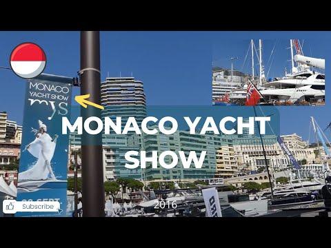 Monaco Yacht Show 2016 HD
