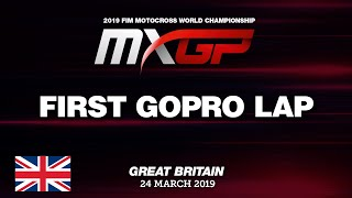 First GoPro Lap with Tim Gajser - MXGP of Great Britain 2019 #Motocross