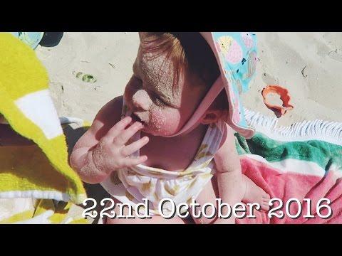 Silly Sandy Beach Baby!