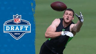 Who is Moritz Boehringer? Check out the German Football star play & train for the NFL!