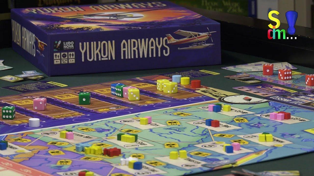 Spiel doch mal YUKON AIRWAYS! - Brettspiel Rezension Meinung Test #353