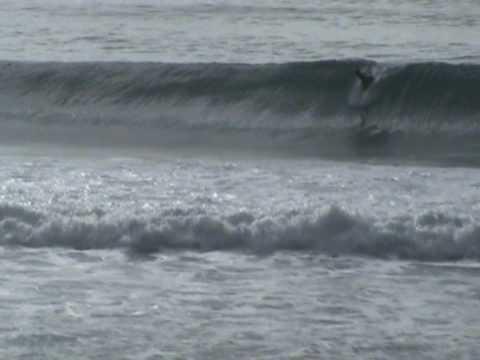 Surfing Dunedin NZ - July 2010