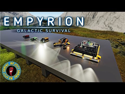 MINING HOVER VESSEL COMPARISON  -  Empyrion: Galactic Survival Workshop Showcase
