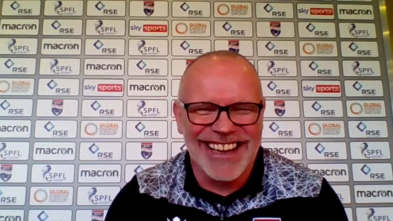 Press conference with new Ross County manager John Hughes m184190 - YouTube