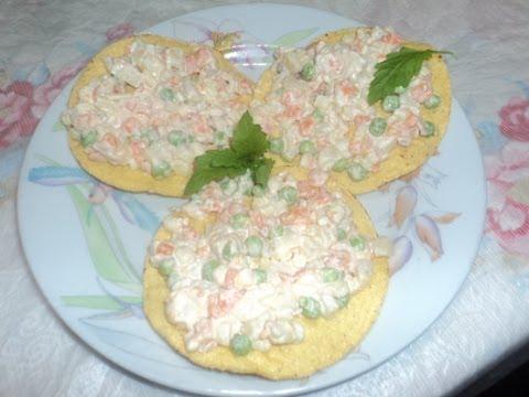 Ensalada de verduras con atun ensalada en tostadas - Ensalada de arroz con atun ...