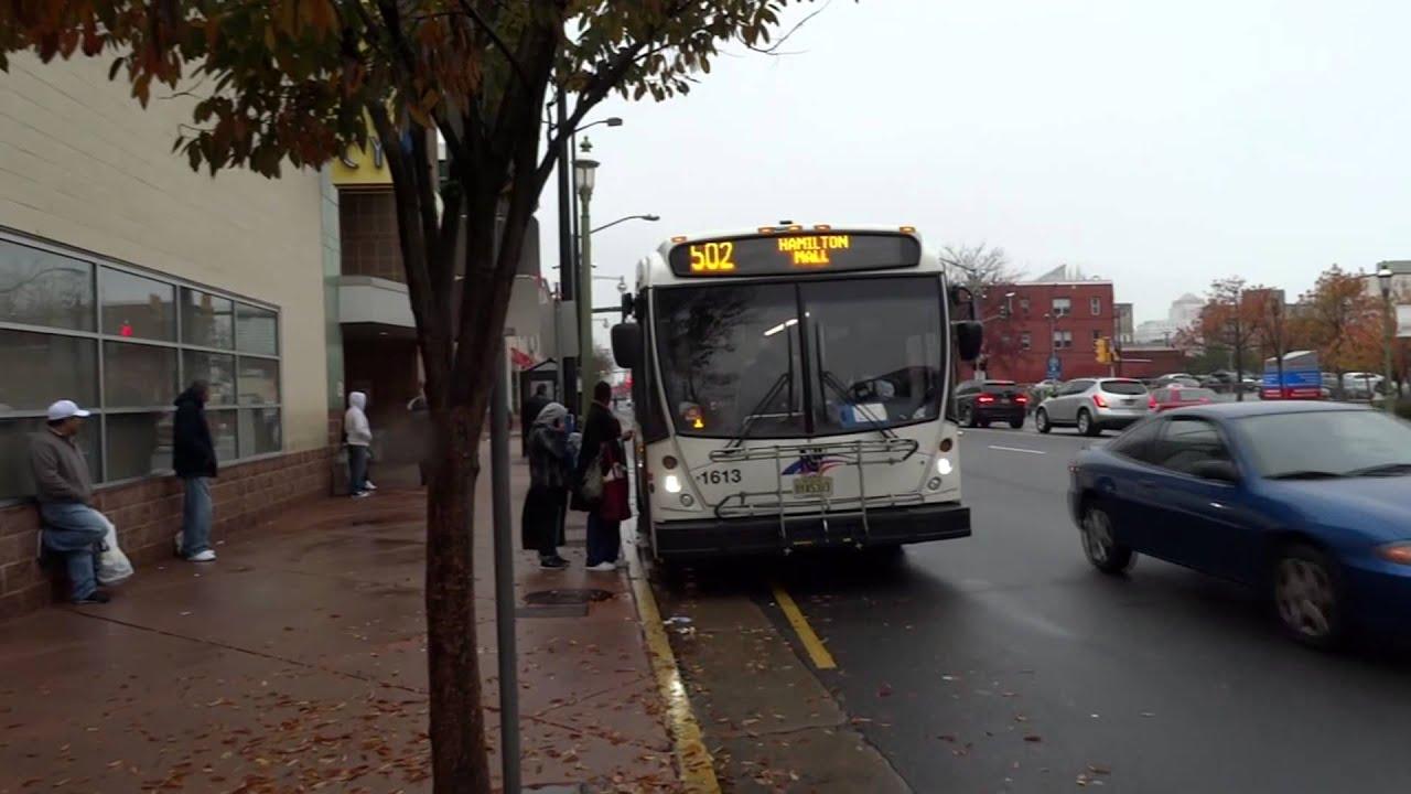 New Jersey Transit Nabi 31 07 1611 Route 505 Amp 1613