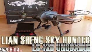 Lian Sheng Skyhunter LS-128 FPV Quadcopter Unboxing (gizchina.de)