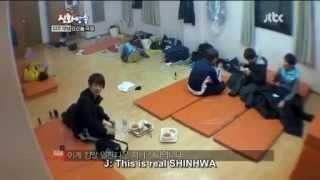 Video [CUT] Shinhwa Broadcast EP 6 Junjin's melodic fart download MP3, 3GP, MP4, WEBM, AVI, FLV April 2018