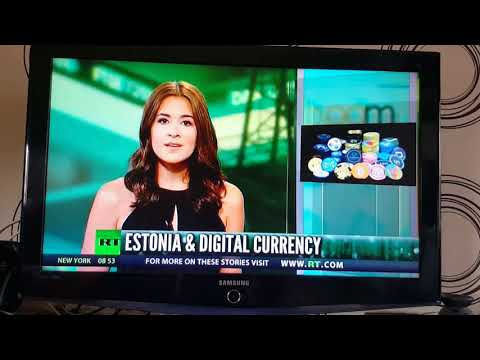 Estonia is creating a national cryptocurrency on RT news