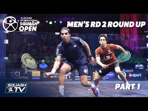 Squash: El Gouna International 2019 - Men\'s Rd 2 Round Up [Pt.1]