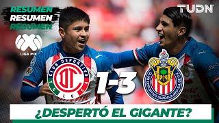 Resumen y Goles | Toluca 1 - 3 Guadalajara | Liga MX - Apertura 2019  - Jornada 17 | TUDN