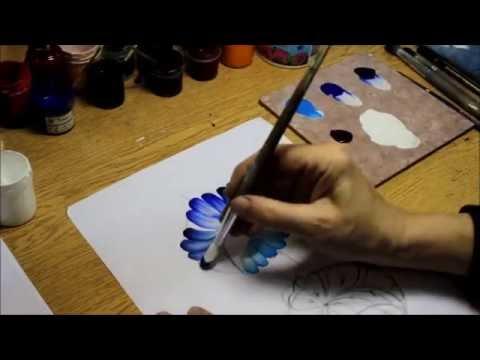 Рисуем цветы в