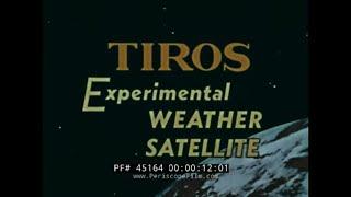 TIROS - Experimenteller Wetter Satellit
