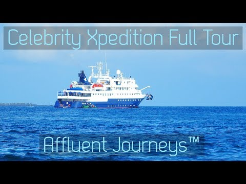 Celebrity Xpedition Full Tour