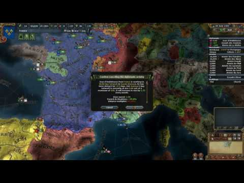 EU4 France into Rome - 1444-1456 Peace and post war economy