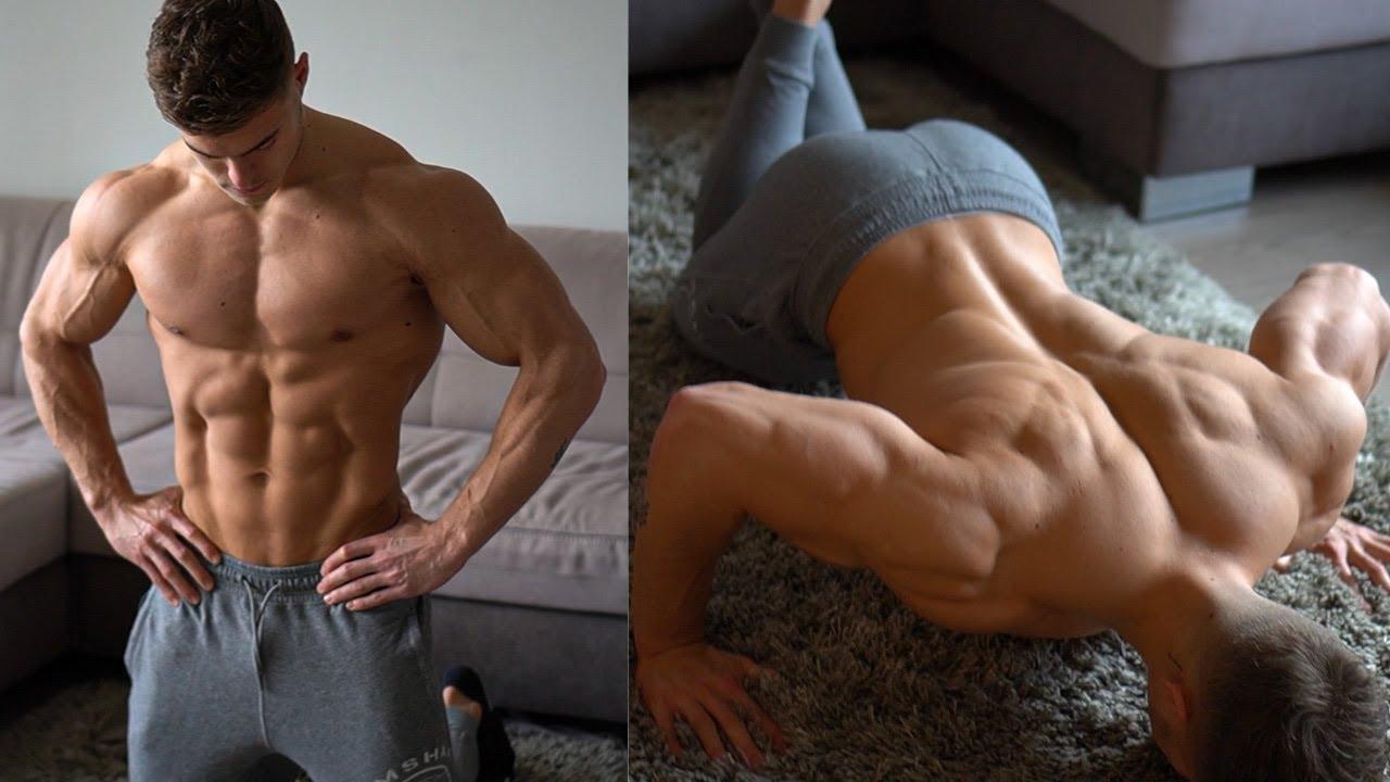 Пълна тренировка за трицепс в домашни условия, без да е необходимо никакво фитнес оборудване!
