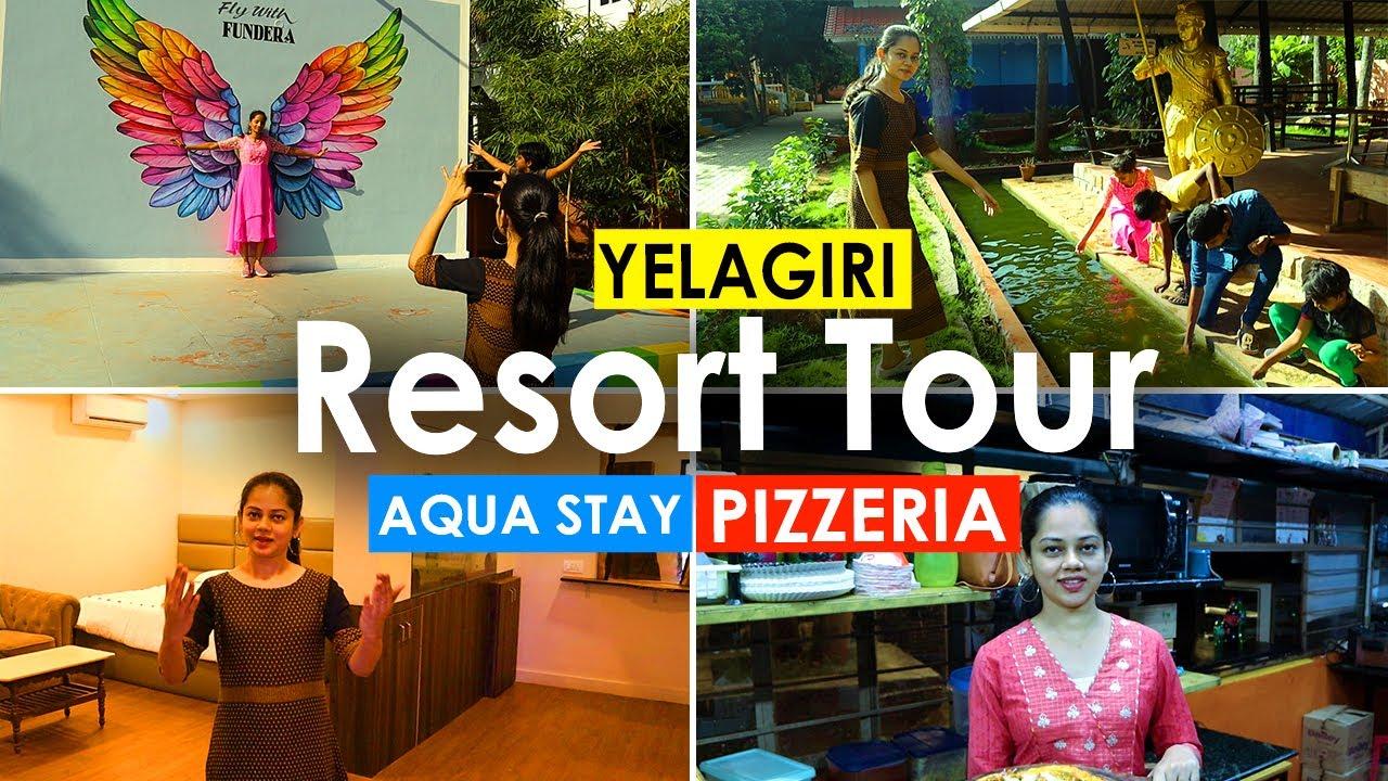 Yelagiri Resort Tour | Fundera Aqua Stay | Pizzeria | Anithasampath Vlogs