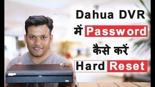 Dahua Dvr Password Reset