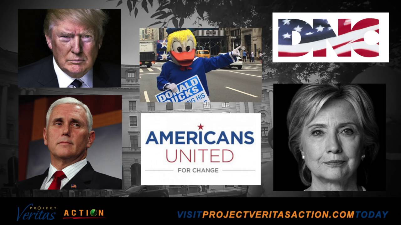 Politics, Hillary Clinton,Election 2016,Project Veritas,James O'Keefe,Voter Fraud,Election Fraud,Bob Cramer,Scott Foval,Democracy Matters,Americans United for Change