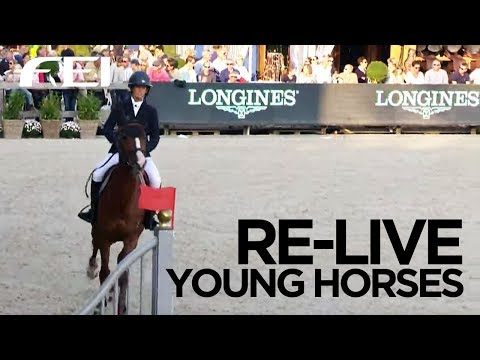 RE-LIVE - FEI/WBFSH World Breeding Jumping Championships for Young Horses
