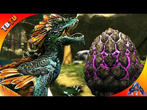 HOW TO GET THE ROCK DRAKE! WHERE TO FIND AND STEAL ROCK DRAKE EGGS! Ark Aberration DLC Gameplay
