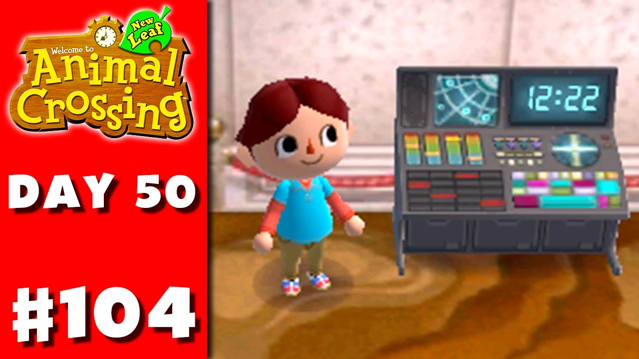 Animal crossing new leaf part 104 space console - Animal crossing new leaf consoles ...