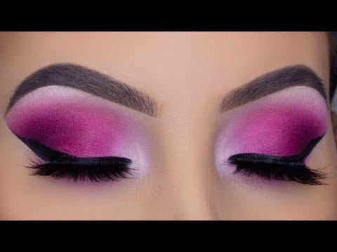 SUMMER Smokey Eyes Tutorial   Tropical Pink Eyeshadow