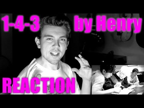 Henry 헨리 - 1-4-3 (I Love You) [feat. Amber] Reaction / Review - MRJKPOP