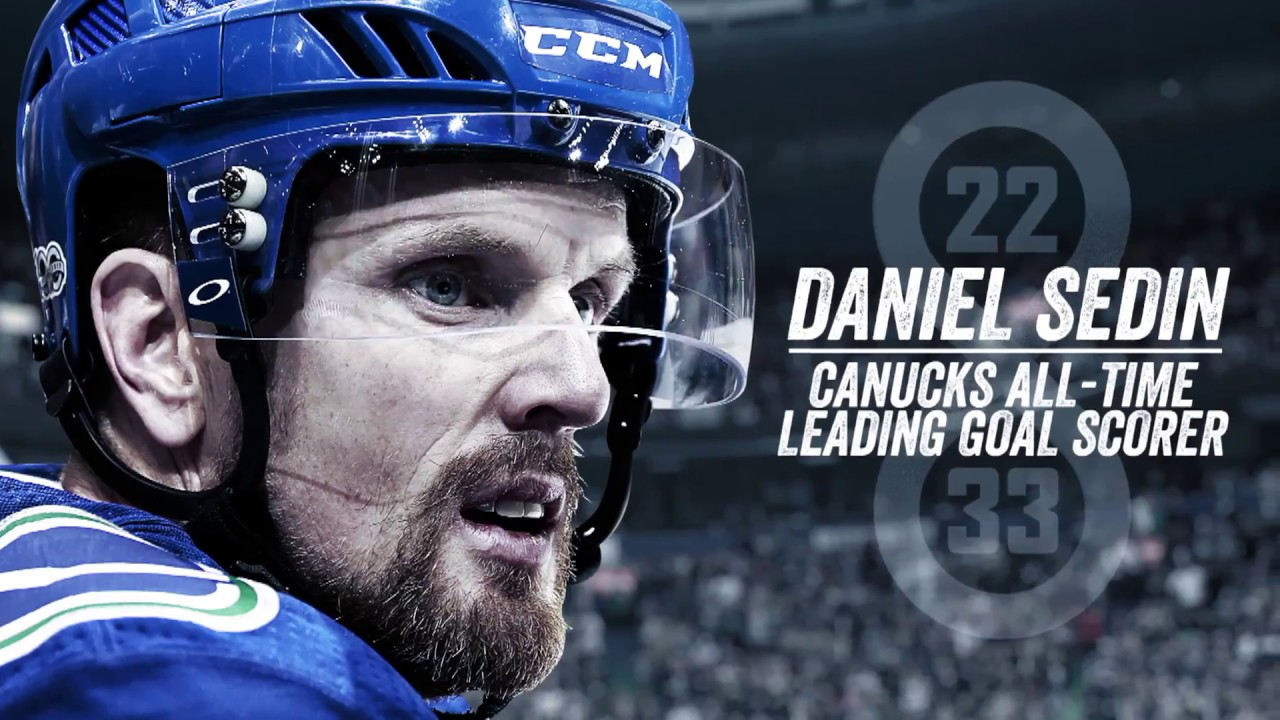 8006fde99 Daniel Sedin is Canucks All-Time Leading Goal Scorer - YouTube