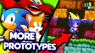 Sonic the Hedgehog 2 LOST BITS   MORE PROTOTYPES ! [TetraBitGaming]