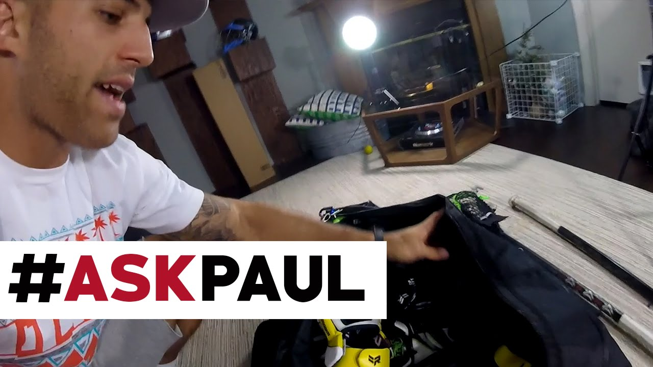 what 39 s in paul rabil 39 s gear bag youtube. Black Bedroom Furniture Sets. Home Design Ideas