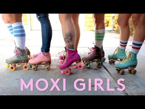 Meet The Bad Ass Moxi Girls Skate Team