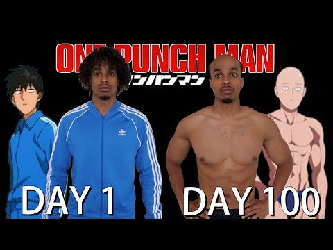 I Did 100 Days Of One Punch Man Training