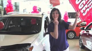 Boulevard Toyota - Publicité Étiquettes Rouges - Tammy Verge - Mars-2014