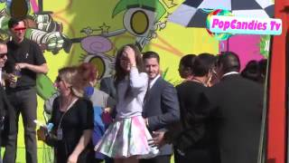 Zendaya Coleman & Val Chmerkovskiy arrive at 26th Annual Kids Choice Awards in LA Thumbnail