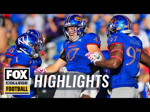 Kansas vs. TCU | FOX COLLEGE FOOTBALL HIGHLIGHTS