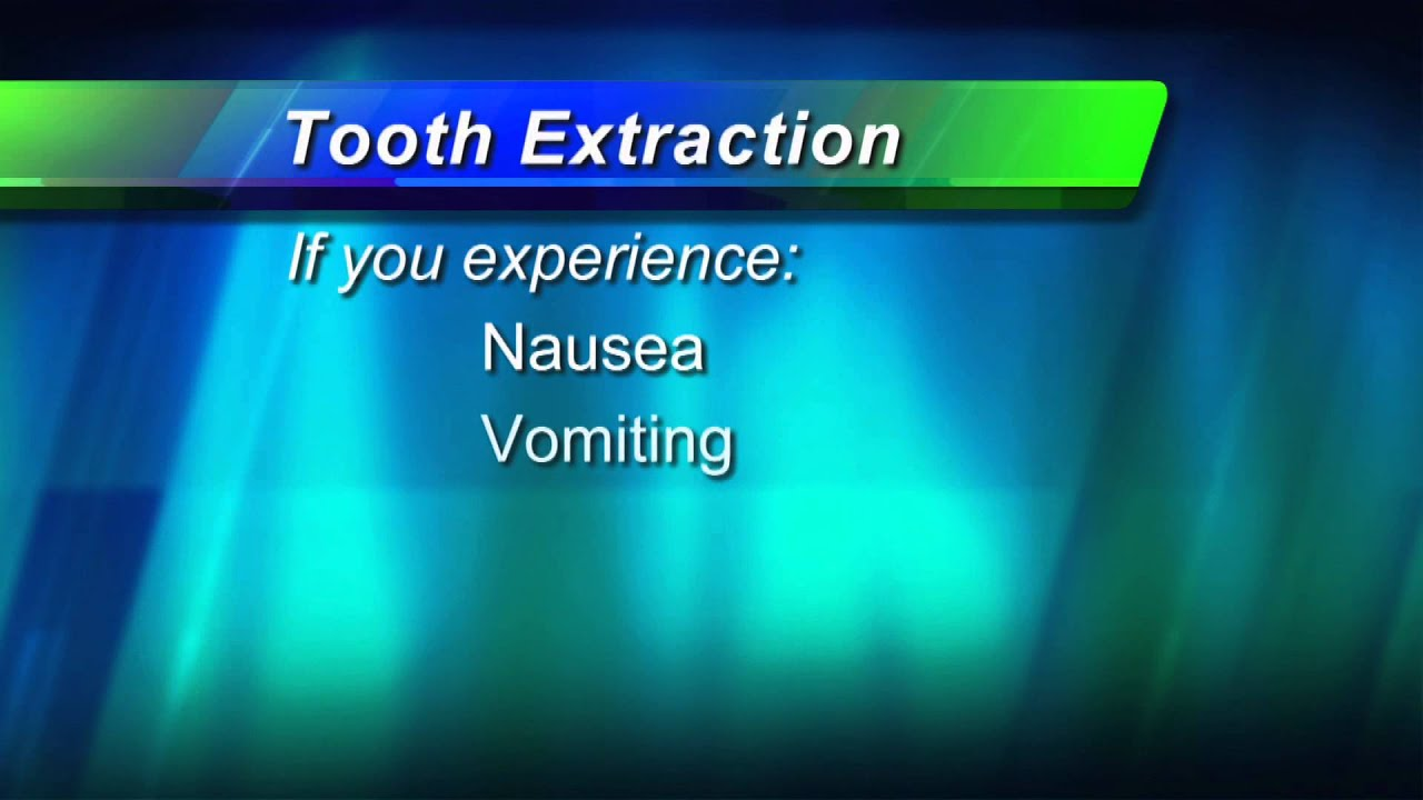 Tooth Extraction Video
