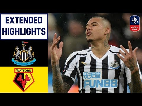 Gray & Success Strike Late to Earn Win! | Newcastle 0-2 Watford | Emirates FA Cup 2018/19