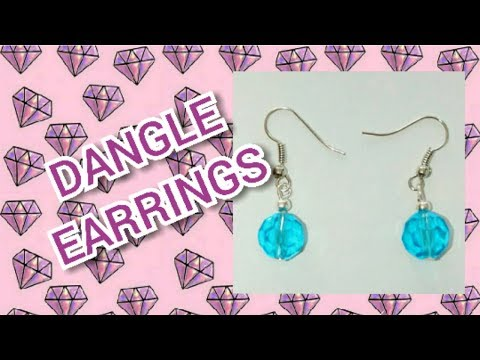 Easy DIY Dangle Earrings | Gift Idea