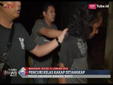 Asyik Nyabu, Pencuri Kelas Kakap Berhasil Dibekuk Polisi - BIM 31/01