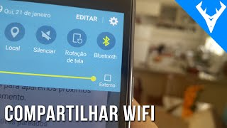 Como compartilhar internet por bluetooth no ANDROID - Único modo de dividir wifi thumbnail