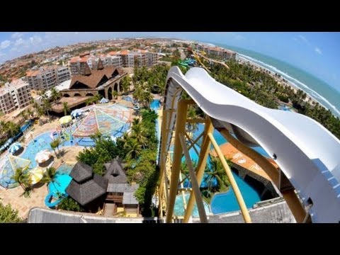 Crazy Water Slide Filmed POV in Dubai at Wild Wadi
