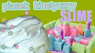 Slime & Kinetic Sand & Brokatowy Slime Kintetic • DIY