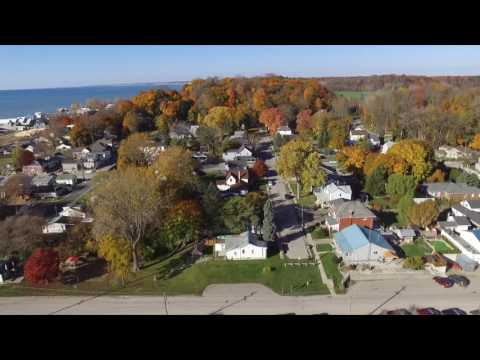 Port Stanley, Ontario, Canada during Fall