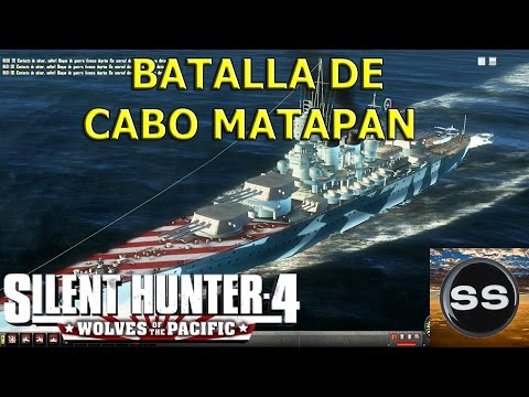 Silent Hunter 4 Naval Battle of Cape Matapan. Batalla de Cabo Matapán.