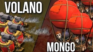 MONGOLFIERE vs VOLANO (vs Nivek)