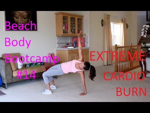EXTREME CARDIO BURN. Total Body HIIT. Beach Body Bootcamp #14