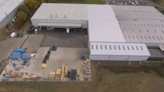 Aerial view of PHC (UK) Limited